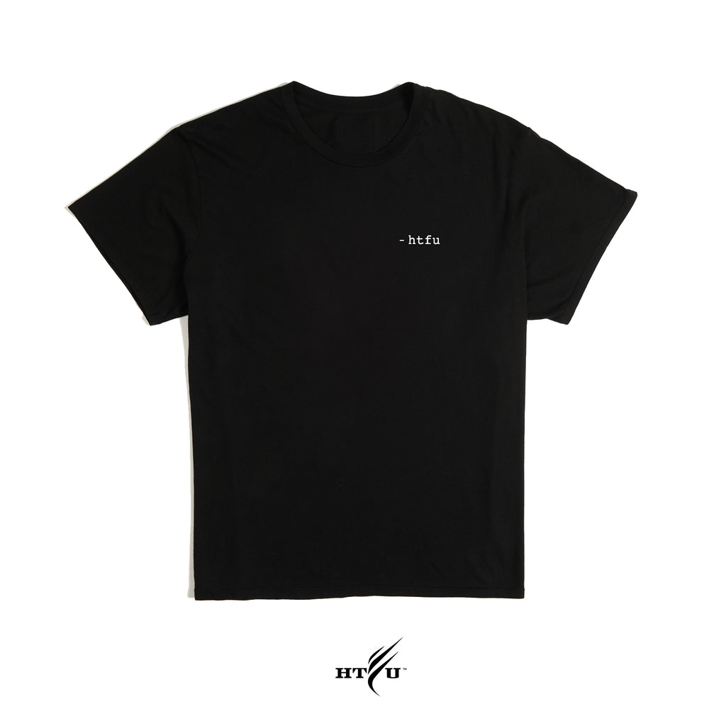 Deep Breath - Essentials Tee -  Black