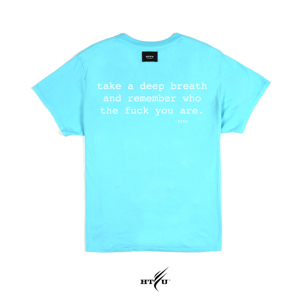 Deep Breath - Essentials Tee -  Teal