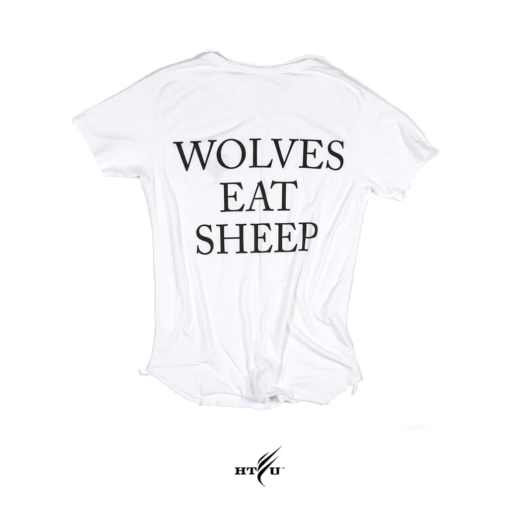 Wolves Eat Sheep -White Capo Tee