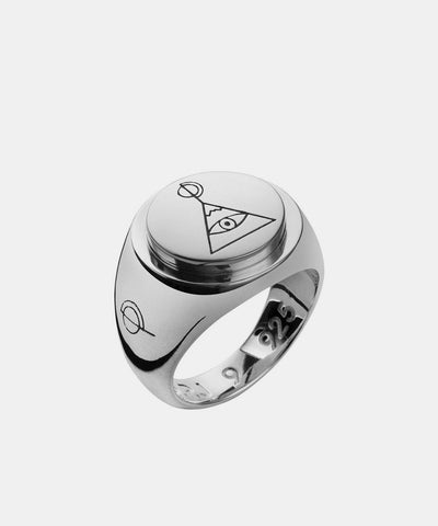 OP Jewellery - Pyramid Signet Ring