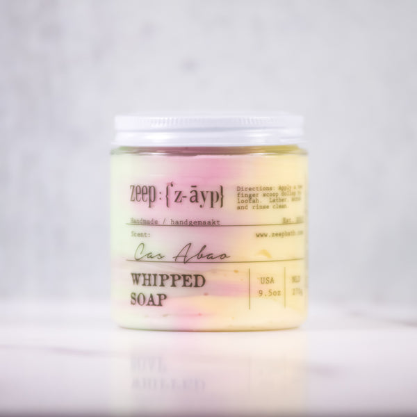 Cas Abao Whipped Soap | LIMITED