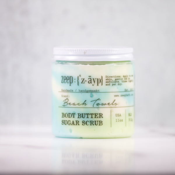 Beach Towels Body Butter Sugar Scrub | LIMITED