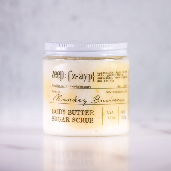 Monkey Business Body Butter Sugar Scrub | LIMITED