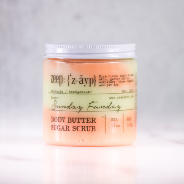 Sunday Funday Body Butter Sugar Scrub | LIMITED