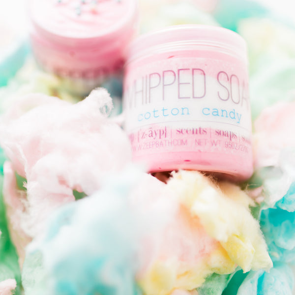 Cotton Candy Whipped Soap - Zeep Bath - 1
