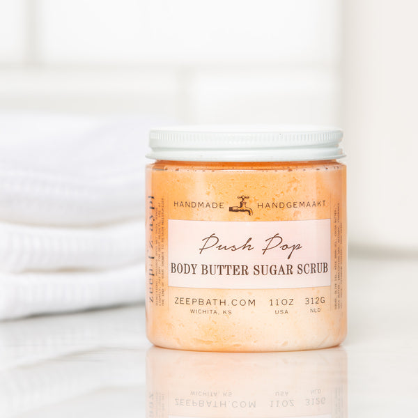 Push Pop Body Butter Sugar Scrub