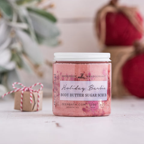 Holiday Barbie Body Butter Sugar Scrub