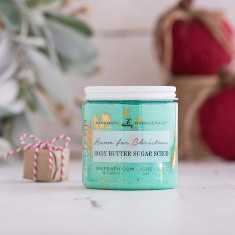 Home for Christmas Body Butter Sugar Scrub