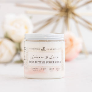 Linen & Lace Body Butter Sugar Scrub