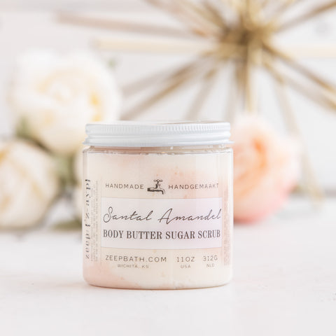 Santal Amandel Body Butter Sugar Scrub