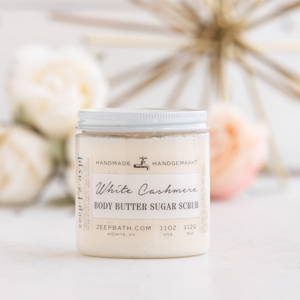 White Cashmere Body Butter Sugar Scrub
