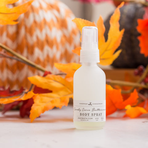 Candy Corn Buttercream Body Spray - Zeep Bath