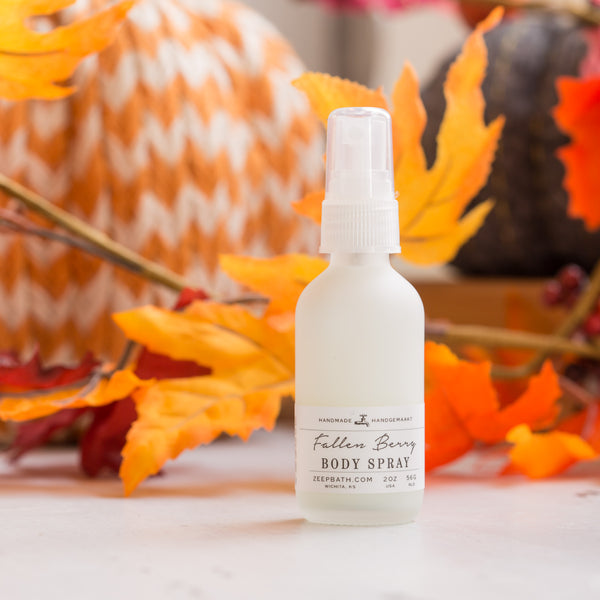 Fallen Berry Body Spray - Zeep Bath