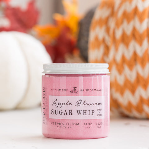 Apple Blossom Sugar Whip - Zeep Bath