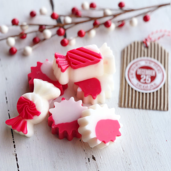 Peppermint Candy Wax Melt
