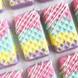 Jelly Fruit Waffle Wafer Bath Bomb - Zeep Bath