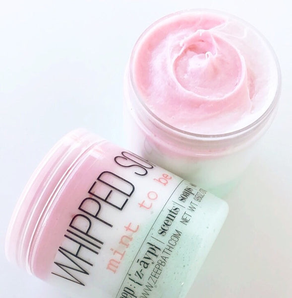 Mint to Be Whipped Soap