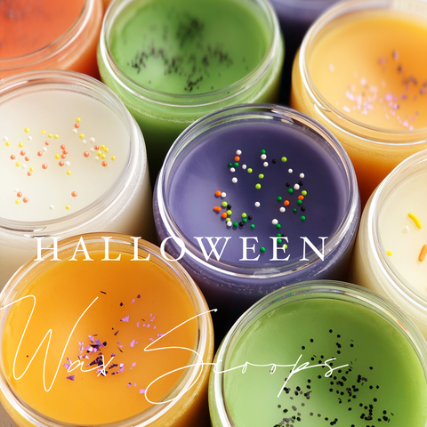 Halloween Wax Scoops | Pick Your Scent