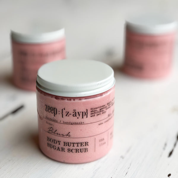 Blush Body Butter Sugar Scrub | LIMITED
