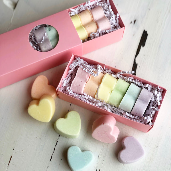 Conversation Heart Cocoa Butter Bath Truffle - Zeep Bath