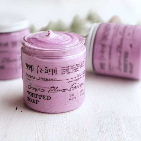 Sugar Plum Fairy Whipped Soap