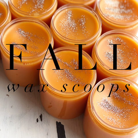 Fall Wax Scoops | Pick Your Scent - Zeep Bath