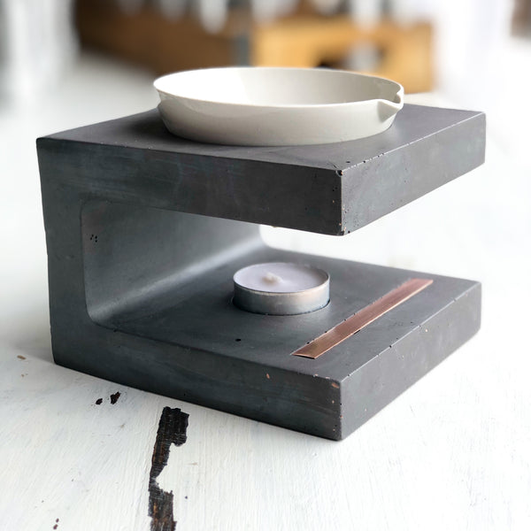 Wax Melter | Beton Collection | Slate
