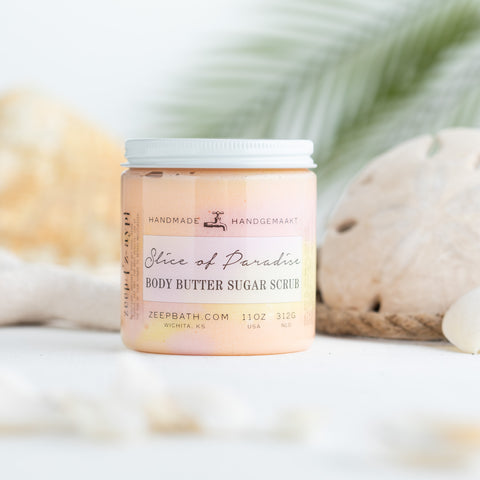 Slice of Paradise Body Butter Sugar Scrub