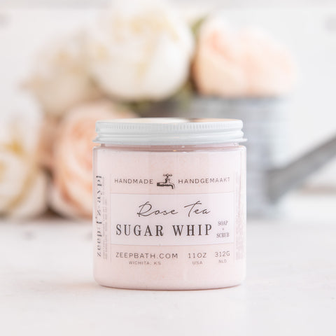 Rose Tea Sugar Whip