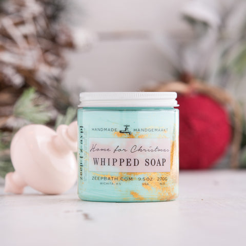 Home for Christmas Whipped Soap