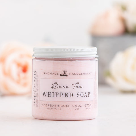 Rose Tea Whipped Soap