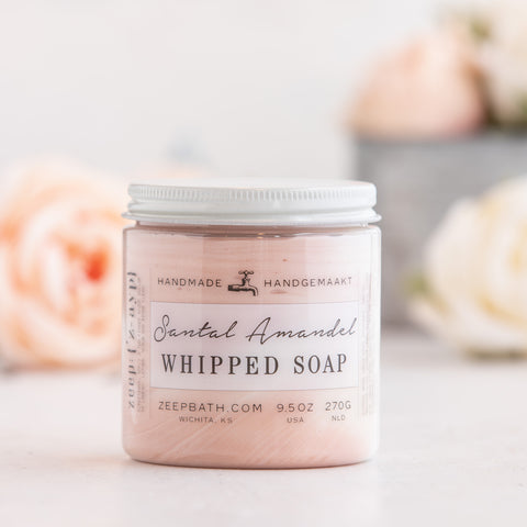 Santal Amandel Whipped Soap