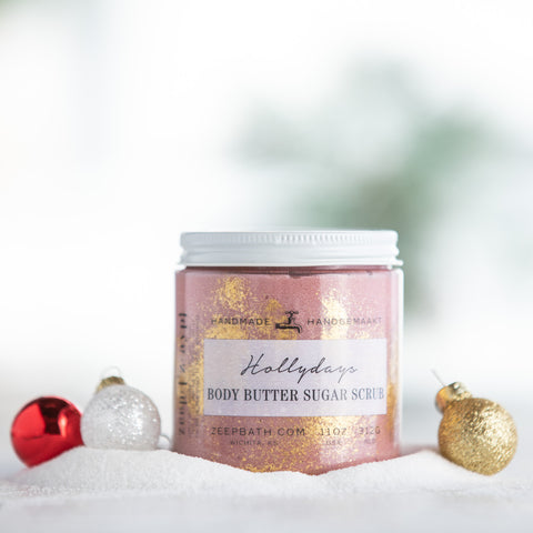 Hollydays Body Butter Sugar Scrub