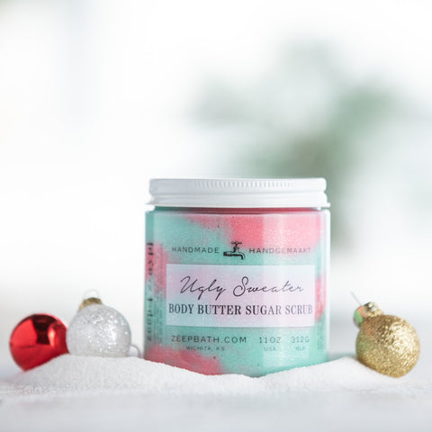 Ugly Sweater Body Butter Sugar Scrub