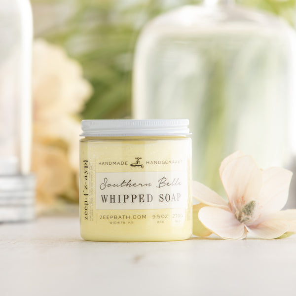 Southern Belle Whipped Soap