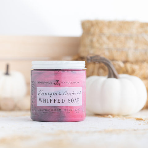 Krueger's Orchard Whipped Soap