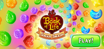 Download The Book of Life:  Sugar Smash Game on IOS or Android