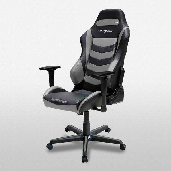 black and grey drifting series dxracer performance chair ohdm166ng gamers seat