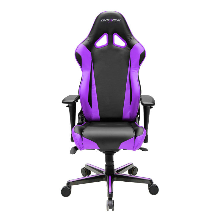 purple black dxracer pc gaming chair racing series ohrv001nv gamers seat