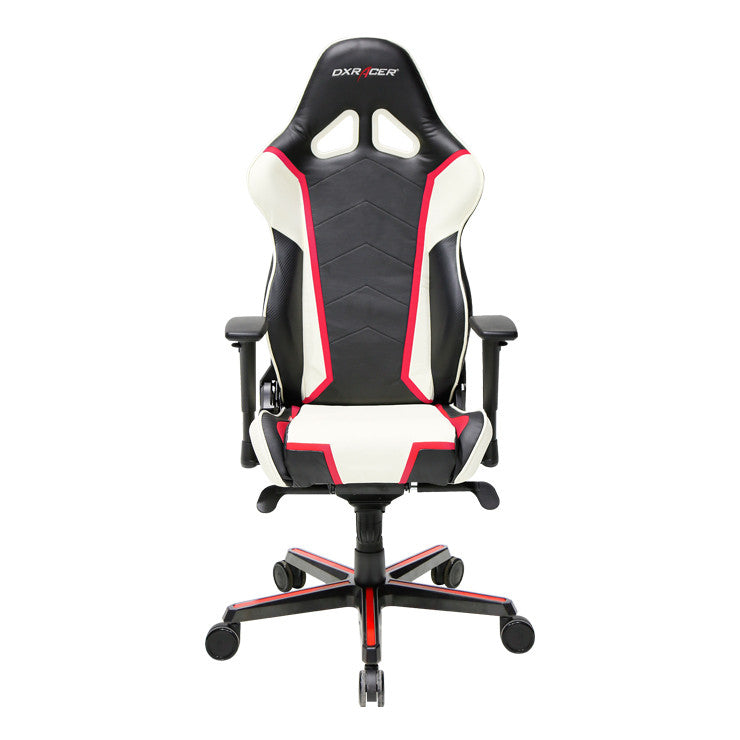 red black white dxracer pc gaming chair rseries ohrh110nwr