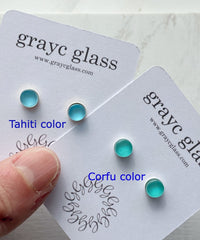 Maria Stud Earrings- Tahiti