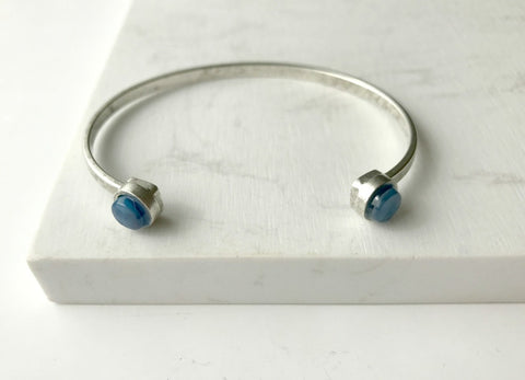 Carmen Cuff Bracelet- Royal Blue