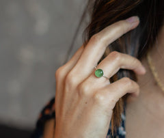 Baby Ring- Moss Green