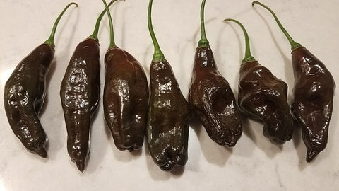 Machu Picchu - Pepper Seeds - White Hot Peppers