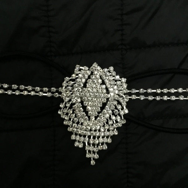 Guvan Bridal Crystal Forehead Band | Body Kandy Couture