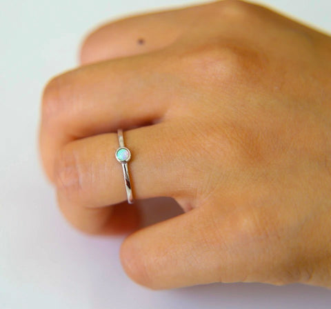 Leigh Delicate Opal Ring