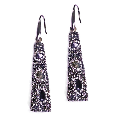 Torri Drusy Dangle Earrings