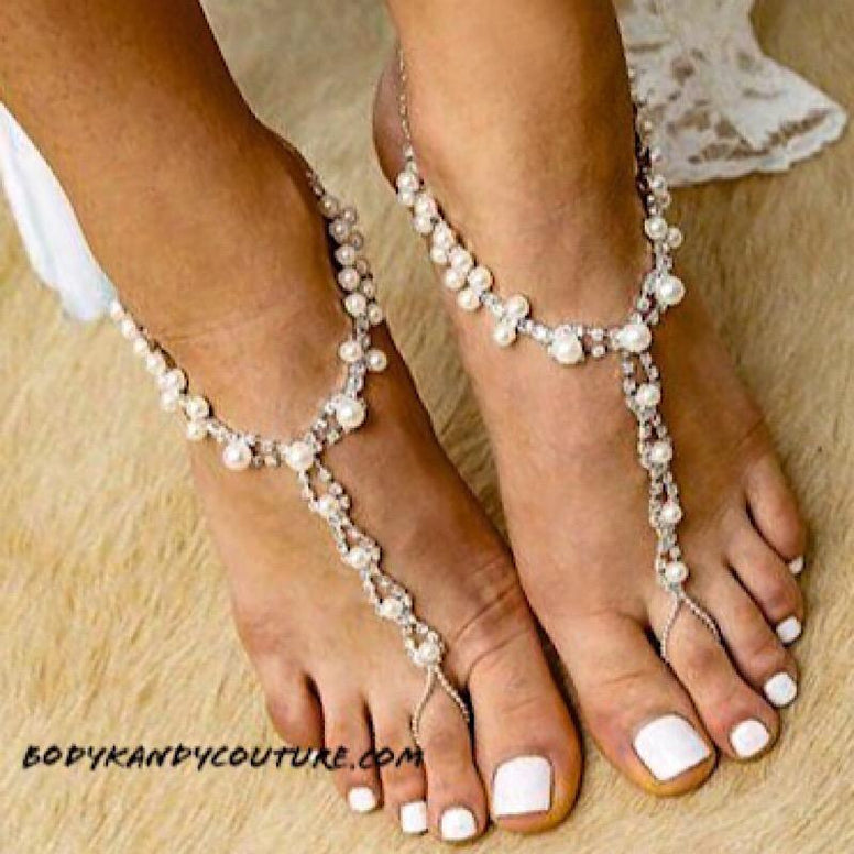 Barefoot Sandals - Delilah Barefoot Wedding Sandals