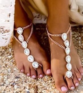 beach wedding shoes inspiring barefoot sandals