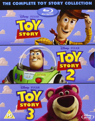 The Complete Toy Story Collection 1-3 [Blu-ray]
